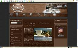 Web Capella Decoracion Hostgreen